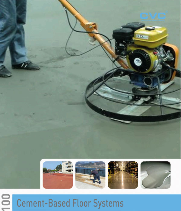 CEMENT-BASED FLOOR SYSTEMS